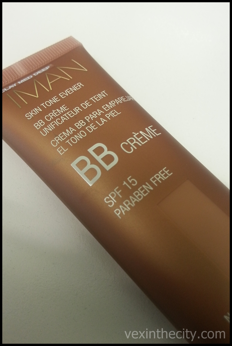 REVIEW: IMAN BB Creme SPF 15 - Vex in the City