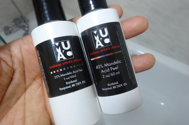 mandelic acid peel 25% 40%